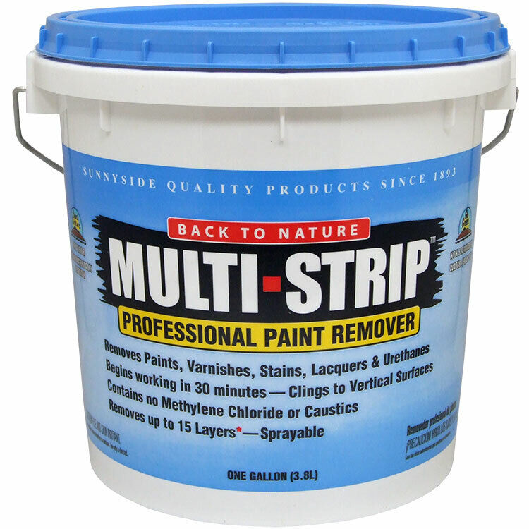 Back to Nature Multi Strip Professional Paint Remover gallon