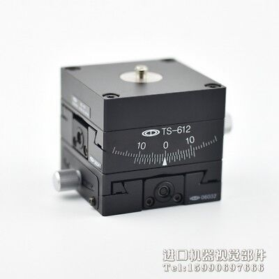 Chuo Seiki Ts-613 Ts-612 Xy 2-axis Angle Adjust Tilt Stagetable Size 6060mm