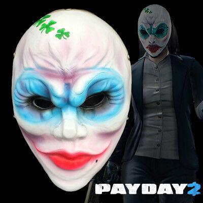 Payday 2 Clover Mega Mask Replica Mask Halloween Costume Cosplay Prop Gift - Halloween 2 Replica Mask