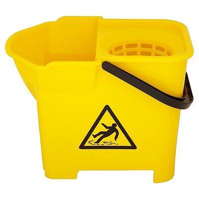 29qt 16l Yellow Mop Wringer Bucket New