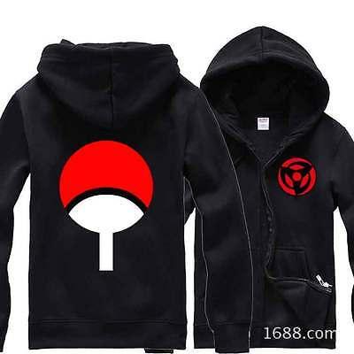 Used, Naruto Uchiha Kakashi Cotton Hoodie Cosplay Costume Jacket Sweatshirt Coat Gift for sale  China