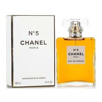 Chanel NO. 5 by CHANEL eau de parfum 3.4 oz - 100ml perfume Women's New & Sealed