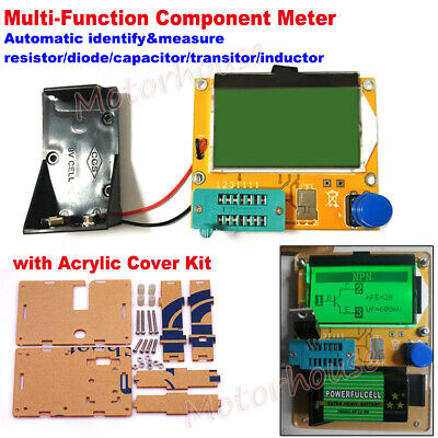 Digital Lcd Component Tester Transistor Diode Capacitor Inductor Esr Meter Cover