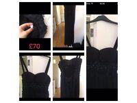Black dress small size
