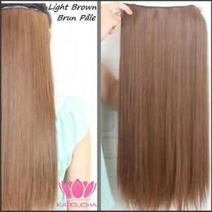 "CLIP IN hair extension,Straight hair, 24"", Color GOLDEN BROWN Yellowknife Northwest Territories image 4"