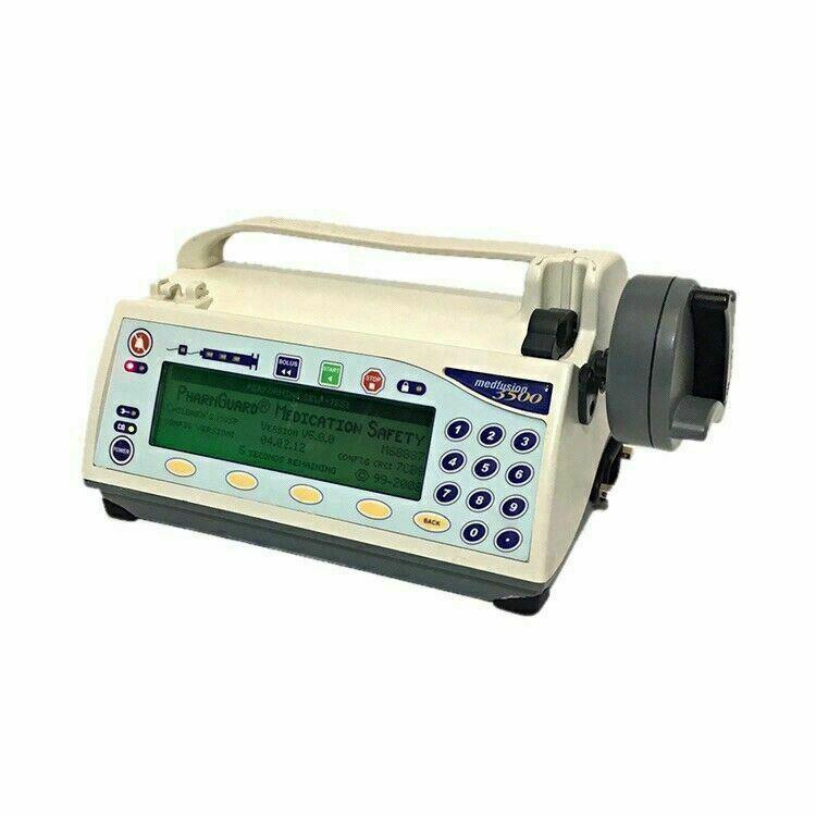 Medfusion 3500 Syringe Pump SW Ver. 5.0 Refurbished, Calibrated, & Biomed Cert.