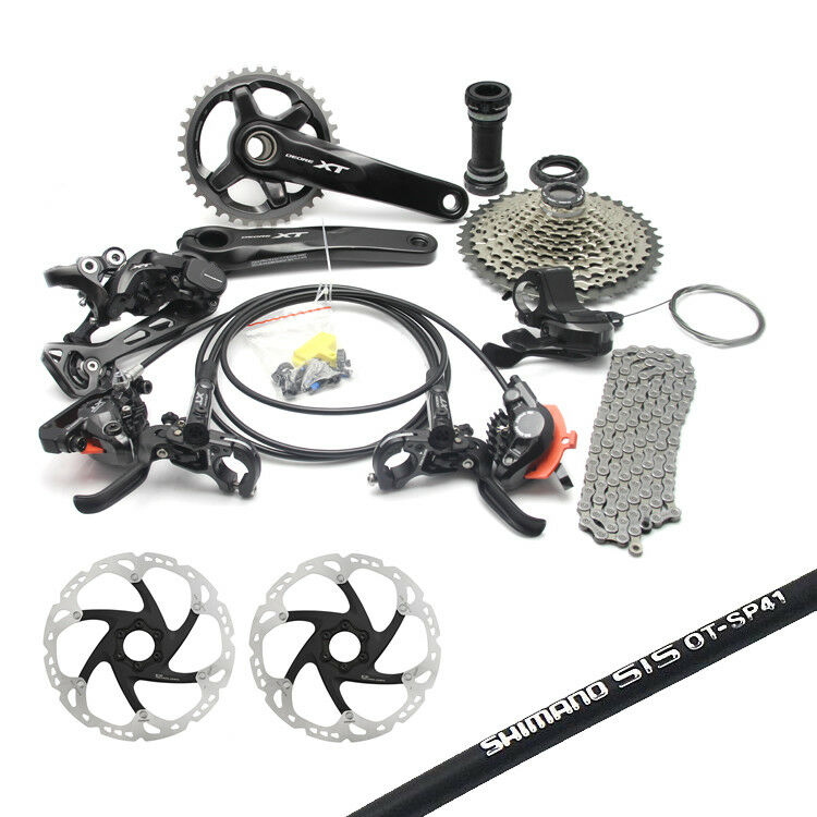 SHIMANO XT M8000 1x11S Complete MTB Groupset 170/175mm 40/42