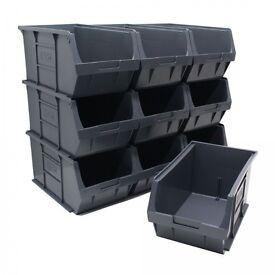 Size 5 Eco Plastic Parts Storage Bins.