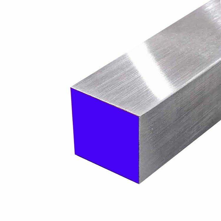 """6061 Aluminum Square Bar, 2"""" x 2"""" x 24"""""""