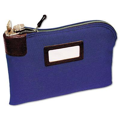 Night Deposit Zipper Bag (MMF Industries Seven-Pin Security/Night Deposit Bag Two Keys Cotton Duck 11 x 8 )