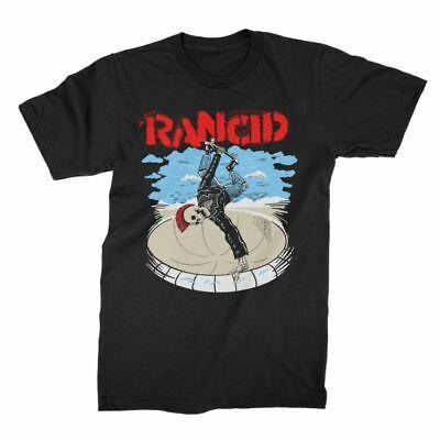 Rancid Skateboard Skele-Tim Skeleton Punk Rock Ska Music Band T Shirt 10129186 - Punk Skeleton