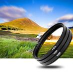 3x 77mm ND Filter grijsfilter +2+4+8 camera lens filter
