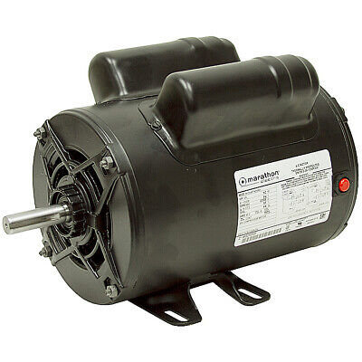 2 Hp 115230 3450 Rpm Marathon Air Compressor Motor 10-2619