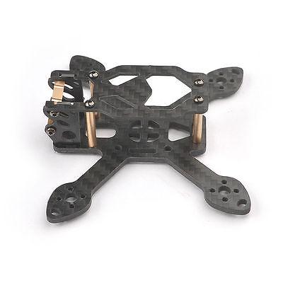 Rc Toad 90mm Mini 2.5mm 3K Pure Carbon Fiber CNC Racing Quadcopter Frame Kit NEW