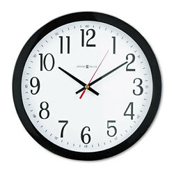 Howard Miller Gallery Wall Clock 16 Black 625166
