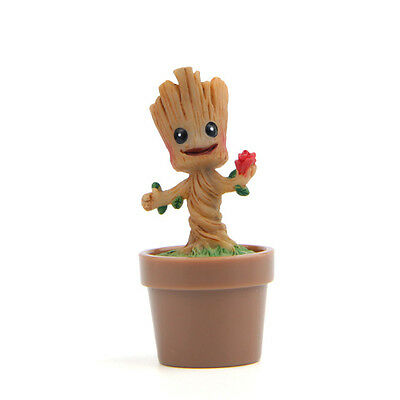 Guardians Of The Galaxy Vol2 Happy Baby Groot Growing in Flowerpot US Stock