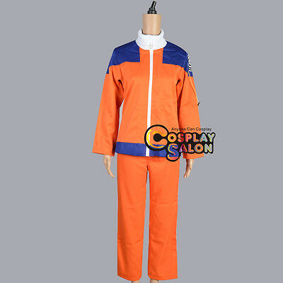 Japan Anime Uzumaki Men Orange Cosplay Casual Clothing Suit Pants Set Costume