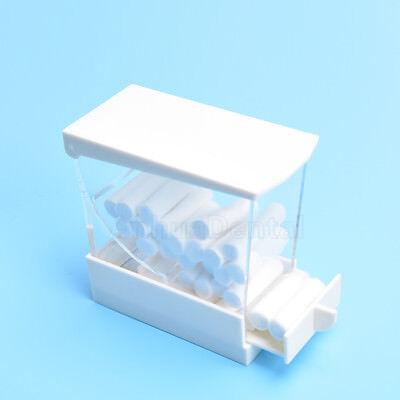 New Dental Cotton Roll Dispenser Drawer Holder Case See-through Organizer