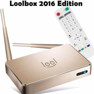 LATEST 2016 GOLD ARABIC LOOL IPTV BOX WITH 2 YEARS FREE