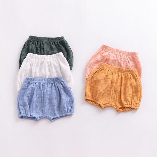 Kinder Baby Mädchen Jungen Sommer Strand Shorts Bloomers Hotpants Freizeit Hosen