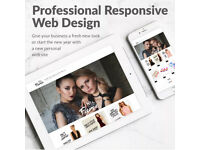 Special offer limited time only £170 - Professional Responsive Website Design + Free Hosting