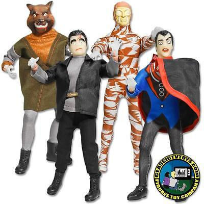 Mego Replica Mad Monsters Complete Loose Set of Four 8 inch action figures