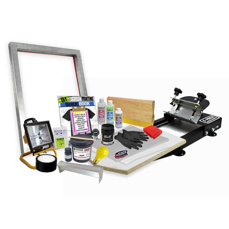 DIY X-Press© Screen Printing Starter Beginner Kit - 11-2