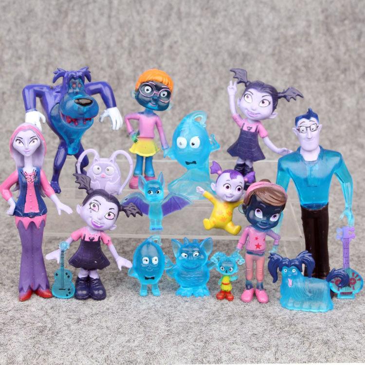 Vampirina Die Vamp Batwoman Junior Mädchen Figur Action Spielzeug 10 Stück Set
