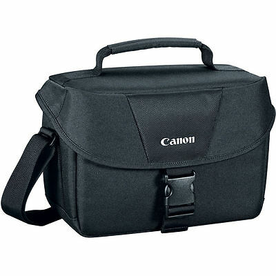Canon EOS Shoulder Bag 100ES for SLR Cameras fits Camera/2 Lenses, T6 T6i T5 T5