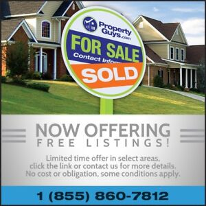 PropertyGuys.com FREE Listings - Limited Time Offer