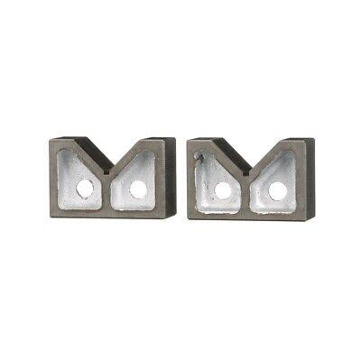 6 X 3-18 X 3-12 Cast Iron V Block Set 3402-1006