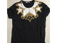 Versace tshirt size medium