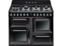 DISCOUNTED - Smeg Victoria TR4110BL1 Dual Fuel Range Cooker - NO PACKAGING