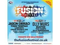 Fusion festival 3rd September x 2