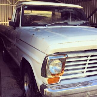 67 Ford F100-351 Cleveland! Running, Unregistered.  Gosnells Gosnells Area Preview