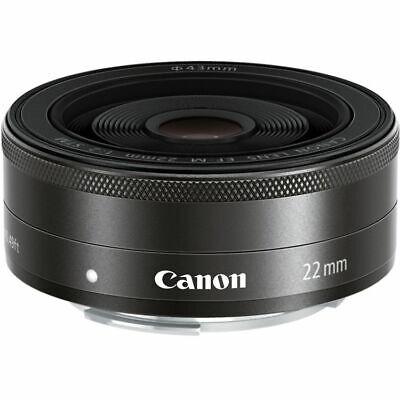 Canon EF-M 22mm f/2 STM Lenses - Black