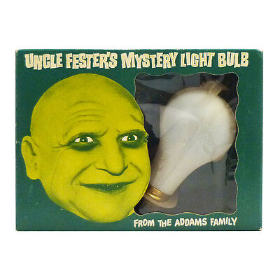 1965 Addams People UNCLE FESTER'S MYSTERY LIGHT BULB Poynter OLD STORE STOCK!