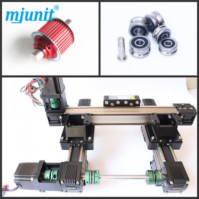 Mjunit 2-axis Belt Driven Cnc Router Linear Table With 300x500mm Stroke Length