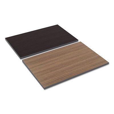 Alera Reversible Laminate Table Top Rectangular 35 38w X 23 58d Espresso