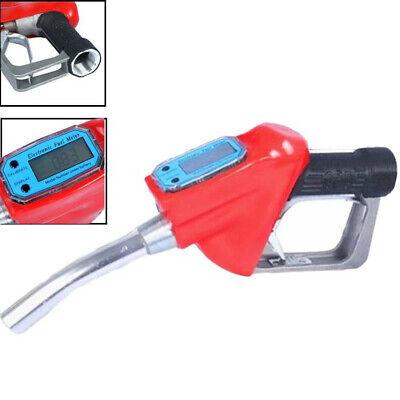 Digital Flow Meter Indicator Gasoline Petrol Oil Refueling Gun Injection Tools