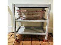 Kitchen Trolley, Shabby Chic, Upcycled
