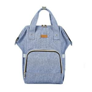 Diaper Bag Backpack for Boys and Girls Maternity Nappy Bag for Mom and Dad (Light Blue) - free shipping