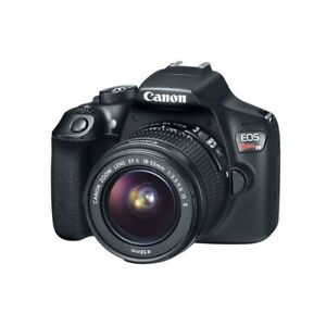 Canon EOS Rebel T6 Digital SLR Camera Kit with EF-S 18-55mm f/3.