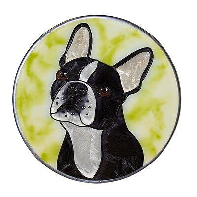 Terrier Suncatcher (BOSTON TERRIER Dog 10