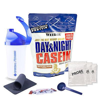 33,58€/kg Weider Day & Night Casein 500g Beutel +