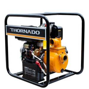 Thornado 2 Inch Diesel Water Transfer Pump 7HP Key Start Chipping Norton Liverpool Area Preview