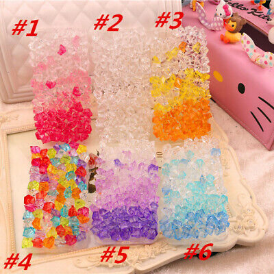 Bling handmade ice Crystal Glitter Soft clear Case For Huawei P9 P10 P20 P30 pro - Glitter Ice Crystal