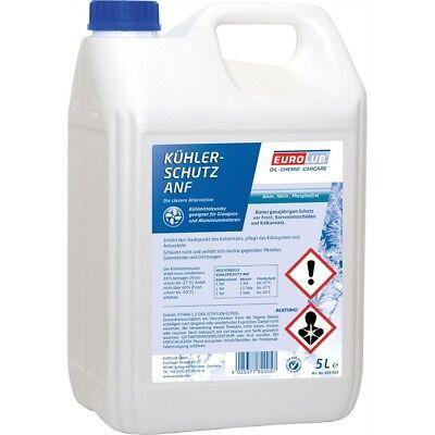 EUROLUB Kühlerschutz ANF G11 blau 5 Liter Kühler Frostschutz Konzentrat