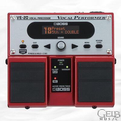 Boss VE-20 Vocal Performer Vocal effects Pedal - VE-20 comprar usado  Enviando para Brazil