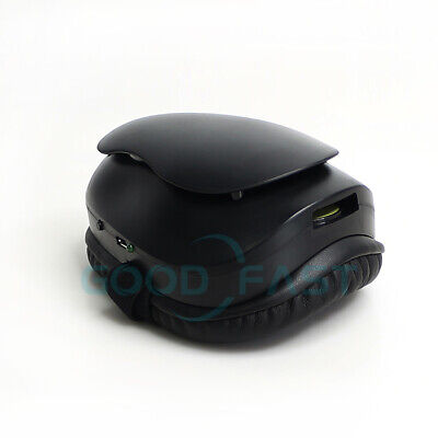 Smart Face Mask With Filtered Electric Turbine Fan Usa Seller Black
